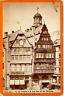 C. Hertel, Frankfurt a. M., Altes Haus auf dem Römerberg  Vintage albumen print.