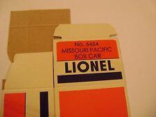 Lionel 6464-150 Missouri Pacific Box Car Licensed Reproduction Box