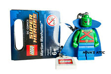 LEGO SUPERHEROS MARTIAN MANHUNTER KEYRING KEYCHAIN BRAND NEW