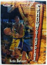 1997 97-98 Topps Finest Showstoppers Kobe Bryant #262, Lakers W/Peel, Premium
