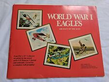 Fighter Planes art J.B. Deneen 4 prints 1969 World War I EAGLES Series 1 Echelon