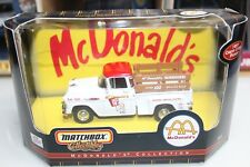 Matchbox 1:43 Scale 1957 CHEVY 3100 PICKUP McDONALD'S
