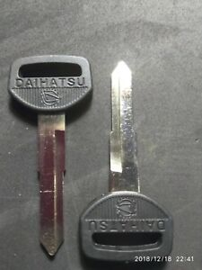 Daihatsu Keyblanks, Key Blank- Non Remote HIJET VAN PICKUP FEROZA Charade