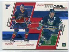 2002-03 BAP Memorabilia Sapphire 235 Chris Pronger Brendan Shanahan 26/100