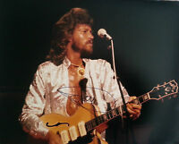 Barry Gibb 'Bee Gees' 'Signed' Large 16x12 Photo AFTAL