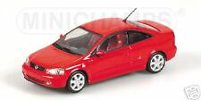 OPEL ASTRA COUPE 2000 rojo 1/43 MINICHAMPS
