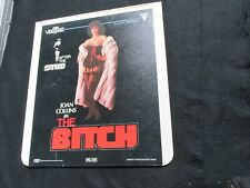 Joan Collins as The Bitch - CED videodisc / video disc / film / movie
