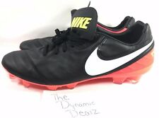 Nike Soccer Tiempo Legacy ll FG Mens Size 10 Soccer Cleats 819218 018 NEW