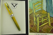 NEW RELEASE Visconti Van Gogh Impressionist Vincent's Chair Green Rollerball Pen