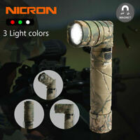 Nicron 950LM Magnetic Super Bright LED Tactical Flashlight Rechargeable 18650