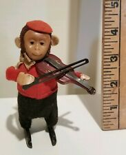 Schuco Wind-up Monkey Playing Violin
