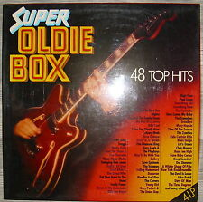LP Super Oldie Box - 48 Top Hits 4-LP-BOX/GER,NM,cleaned,Marifon 296092
