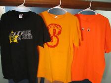 Lot of THREE / 3 / men's t-shirts - size M & L - CRITIC / ZAVIOR / EYES