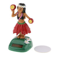 Solar Powered Dancing Swinging Animated Bobble Head Dancer Toy Car Decor Red