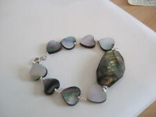 Natural Labradorite Silver Plated Costume Bracelets