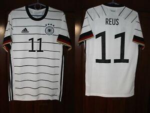 Germany Deutschland 2020 2021 Reus Home Euro Soccer Adidas shirt jersey Size S