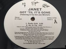 "Rare JANET JACKSON - Got 'Til It's Gone PROMO feat. Q-Tip SPRO-12732 12"" Record"