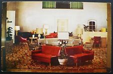 1950s Hotel Auditorium Smoking Room Cleveland Ohio's Newest Downtown Hotel