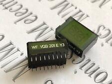 1x VQB201 E  RFT 16 Segment LED Display GREEN