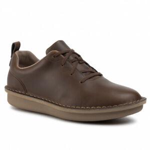 Clarks Step Welt Free Men's Dark Brown Shoes - Size UK9.5 (EU44 / US10.5M)