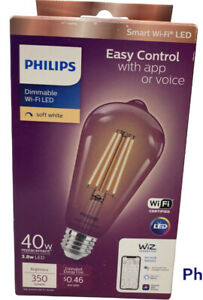 Philips Smart WiFi LED 40w 350 Lumens Dimmable Light Bulb Soft White BRAND NEW