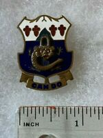 Authentic US Army 15th Infantry Regiment Unit DI DUI Crest Insignia NBI JAPAN
