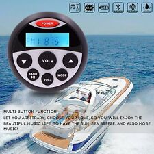 Waterproof Bluetooth Stereo Marine Boat FM AM Radio Car Audio ATV UTV MP3 Player