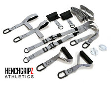HENCHGRIPZ Twin Suspension Bodyweight Trainer  System GYM / FITNESS / CROSSFIT