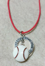 Baseball diffuser necklace, kids diffuser necklace, diffuser, aromatherapy,  442