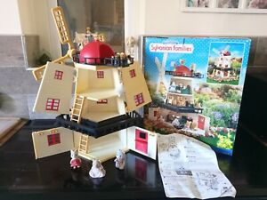 Sylvanian Families Boxed Vintage Windmill 'the old mill'