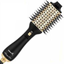 Aibesser Haartrockner Warmluftbürste Haarstyling Volumen Trocknen Rundbürste Gol