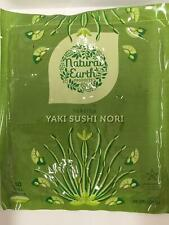 Sushi Nori Seaweed Sheets - 10 Full Toasted Sheets from Natural Earth Products