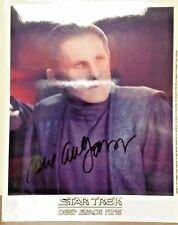 Authentic Star Trek DS9 Rene Auberjonois Autographed Photo