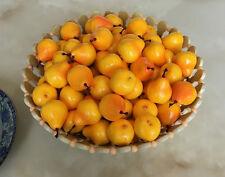 100 pc Artificial mini pear yellow Fake Fruit faux Model Kitchen Decorative