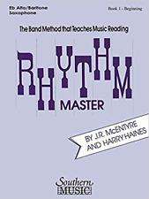 Southern Music Co. 03770816 Rhythm Master Alto/Bari Sax Book 1