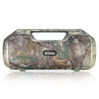 BOHM Impact Plus Portable Bluetooth Speaker w/ Handle & Shoulder Strap Realtree