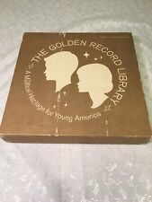 1959 The Golden Record Library Vinyl 12 Set Collection