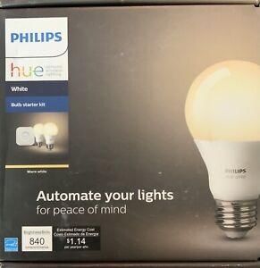 Philips Hue 2-Bulb A19 60W Starter Kit - Soft White - 455287