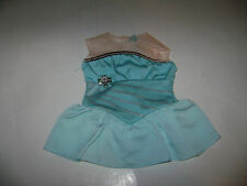 American Girl Doll Ice Skating Outfit Blue Beige RETIRED RARE
