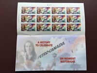 Canadian Stamp Booklet - 2000 46-Cent PETRO-CANADA Pane of 12(BK231)