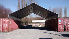 20' x 40' Cargo Shipping Container Cover - safe dry storage or covered work area