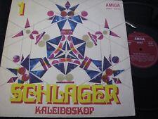 SCHLAGER KALEIDOSKOP 1 Ina & Michael, Skaldowie, Brix / DDR LP 1971 AMIGA 855232