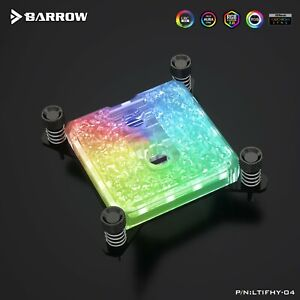 Barrow Intel 115X ICICLE Series CPU Water Block - A70
