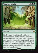 Wave of Vitriol NM Commander Anthology Green Rare MTG