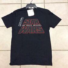 Star Wars The Force Awakens Black T Shirt  Size L  NWT