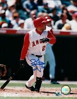 Brad Fullmer Signed 8X10 Photo Autograph Anaheim Angels After Swing Auto w/COA
