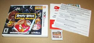 Angry Birds Star Wars for Nintendo 3DS Fast Shipping