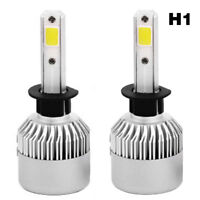 2PCS COB H1-S2 8000LM 72W LED Car Headlight Fog Light Lamp Bulb 6500K Bright
