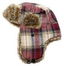 42798d592b0 Men s Women s Aviator Bomber Winter Hat Faux Fur Lining With Ear Flaps ...