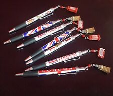 More details for london charm attractions balpoint pen souvenirs gb gift pens top uk london scene